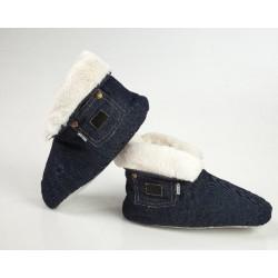Домашние джинсовые сапожки NORSK DUN