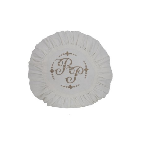 Подушка декоративная круглая Monogram