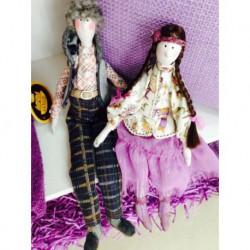 Куклы декоративные Семейка