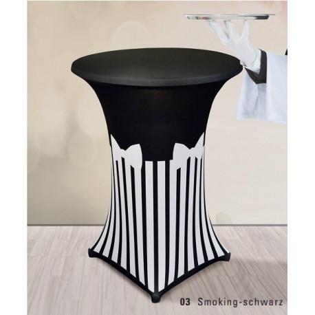 Чехол для коктейльного столика Carina smoking-shwarz