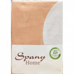 Постельное белье бязь Spany Home Dots персиковый 1,5-сп(70X70)