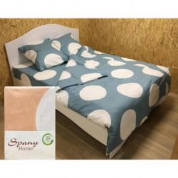 Постельное белье бязь Spany Home Dots персиковый 2-сп(50X70)