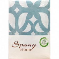 Постельное белье бязь Spany Home Tracery брюзовый 1,5-сп(70X70)