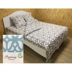 Постельное белье бязь Spany Home Tracery брюзовый 2-сп(50X70)