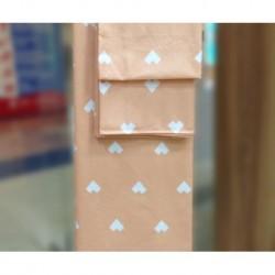 Постельное белье бязь Spany Home Hearts персиковый 2-сп(70X70)