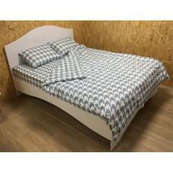 Постельное белье бязь Spany Home Jone брюзовый 2-сп(50X70)