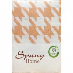 Постельное белье бязь Spany Home Jone персиковый 2-сп(70X70)