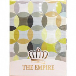 Постельное белье сатин The Empire Aslak yellow 2-сп