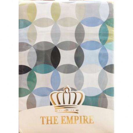 Постельное белье сатин The Empire Aslak blue 2-сп