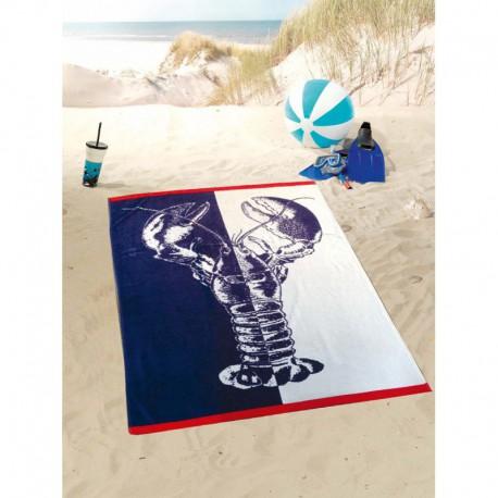 Полотенце пляжное 100x160 Gozze Lobster