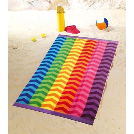 Полотенце пляжное 100x160 Gozze Wellen
