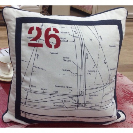 Подушка декоративная Sailing Boat 50x50