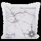 Подушка декоративная Map 50x50