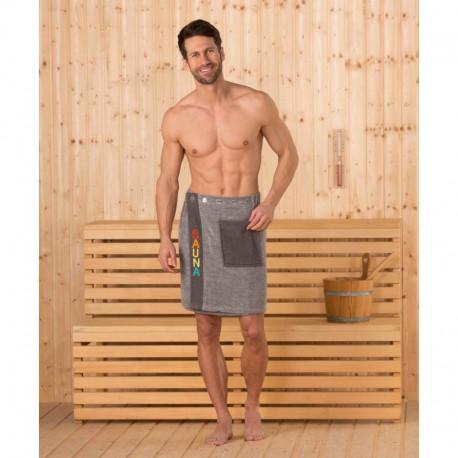 Полотенце-килт на пуговице Sauna kilt