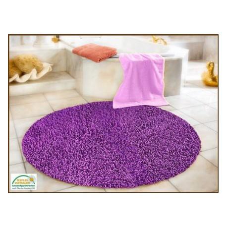 Коврик для ванной круглый Gozze Hochfloroptik