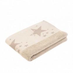 Полотенце махровое 50х100 Gozze Denim Звезды