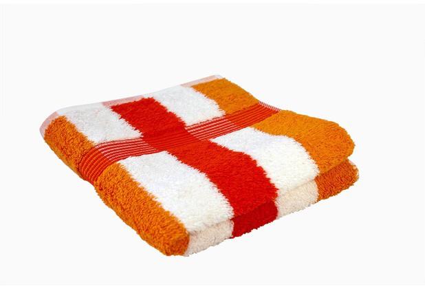 оранжевый/белый/кармин