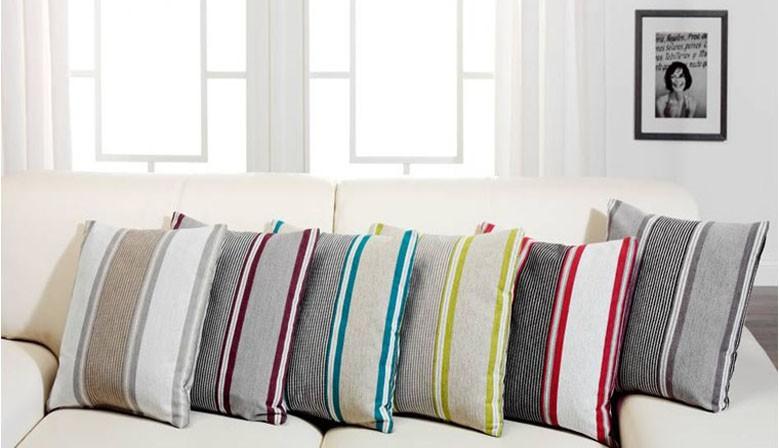 Огромный выбор декоративных подушек.